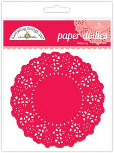 Bilde av Doodlebug Design - 4453 - Paper Doilies - Ladybug - 75 stk