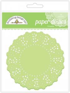Bilde av Doodlebug Design - 4456 - Paper Doilies - Limeade - 75 stk