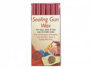 Bilde av Manuscript - Sealing Gun Wax - Rød - 6stk