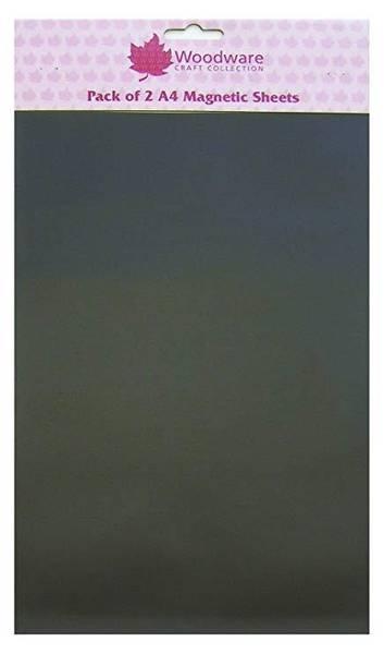 Woodware - Magnetic sheet - A4 - Selvklebende - 2stk
