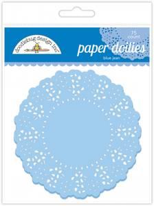 Bilde av Doodlebug Design - 4458 - Paper Doilies - Blue Jean - 75 stk