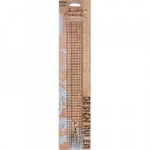 Bilde av Tim Holtz - Idea-Ology - TH92481 - Design Ruler 12 inch