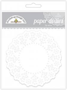 Bilde av Doodlebug Design - 4460 - Paper Doilies - Lily White - 75 stk