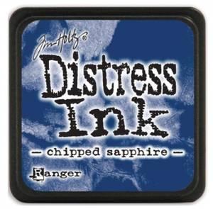 Bilde av Distress - Mini Ink Pad - CHIPPED SAPPHIRE