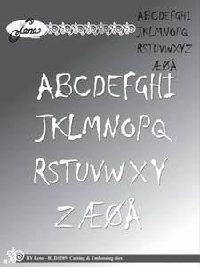 Bilde av By Lene - Dies - BLD1289 - Alphabet - Upper