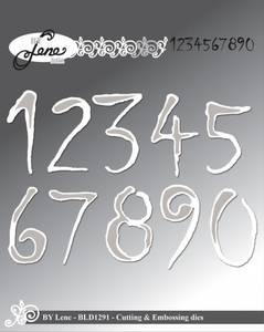 Bilde av By Lene - Dies - BLD1291 - Numbers