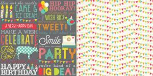 Bilde av Simple Stories - 5308 - Lets Party - Hip Hip Horray! - 12x12