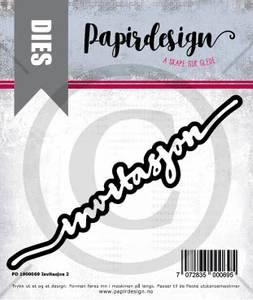 Bilde av Papirdesign Dies PD1900069 - Invitasjon 2
