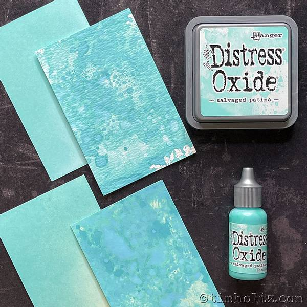 Distress Oxide Ink Pad - 72751 - Salvaged Patina