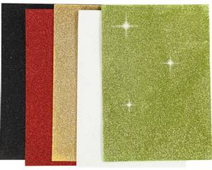 Bilde av Mosegummi - A5 - 2mm - 769011 - Glitter - mix1 - Ass farger 5stk