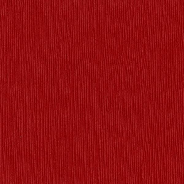 Bazzill - Fourz (Grass Cloth) - 2-214 - Red Devil