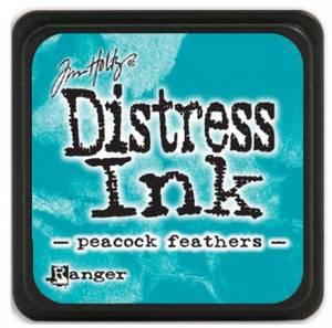 Bilde av Distress - Mini Ink Pad - Peacock Feathers