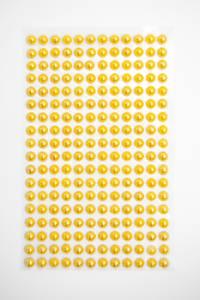 Bilde av Kort & Godt - Stickers - ST-104 - Perle - 6mm - Gul