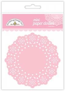 Bilde av Doodlebug Design - 4596 - Mini Paper Doilies - Cupcake - 75 stk