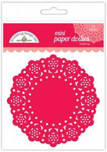 Bilde av Doodlebug Design - 4598 - Mini Paper Doilies - Ladybug - 75 stk