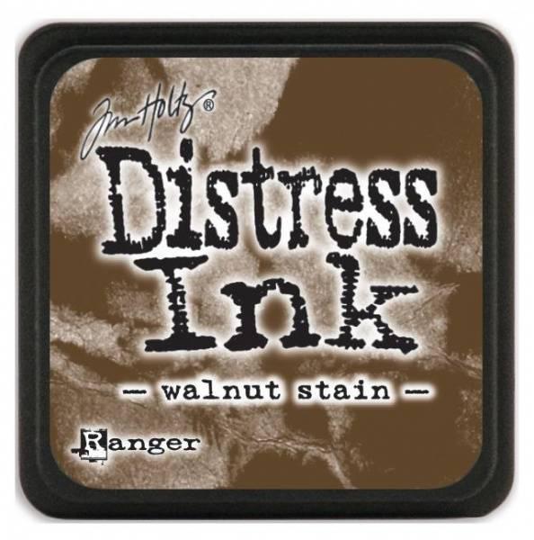 Distress - Mini Ink Pad - Walnut Stain