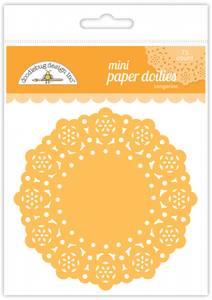 Bilde av Doodlebug Design - 4599 - Mini Paper Doilies - Tangerine - 75stk