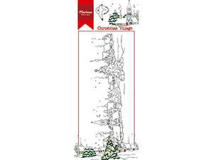 Bilde av Marianne Design - HT1625 -Clearstamp - Hetty's Christmas village