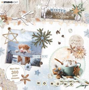 Bilde av Studiolight -   665 - Die Cut Book - Winter Charm