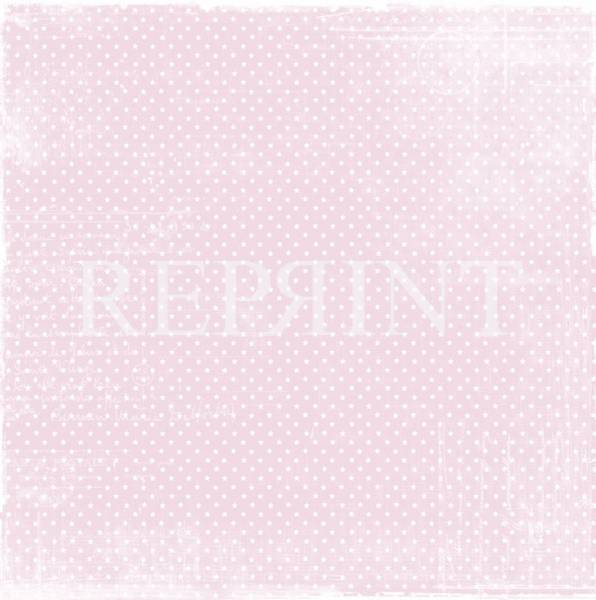 Reprint - 12x12 - Basic Collection - 016 - Vintage pink ministar