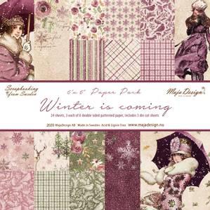 Bilde av Maja Design - 1142 - Winter is coming - 6x6 Paper Pack