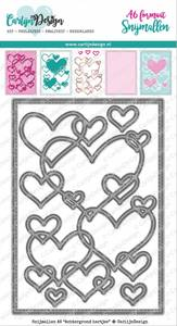 Bilde av CarlijnDesign - Dies - 0088 - Background Hearts
