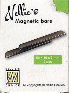 Bilde av Nellie Snellen - Spare Magnetic Bars 2 pk - for Stamping Buddy p