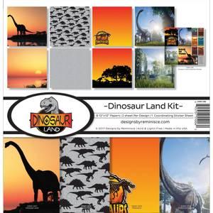Bilde av Reminisce - 12x12 Collection Kit - DINO200 - Dinosaur Land