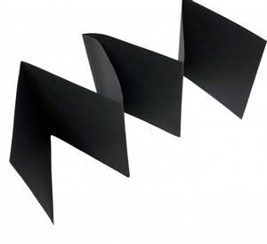Bilde av Accordion Cardstock - Kort base - 11,5 x 69 cm - Midnight Black