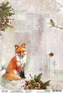 Bilde av Ciao Bella - Rice Paper Sheet A4 - When Show Falls Nature Listen