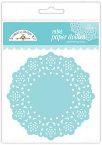 Bilde av Doodlebug Design - 4602 - Mini Paper Doilies - Swimming Pool