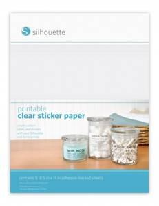 Bilde av Silhouette Sticker paper