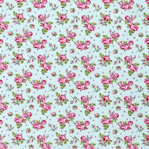 Bilde av Bomullspoplin roser mint