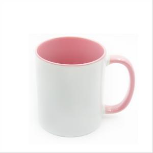 Bilde av Two tone rosa/hvit kopp