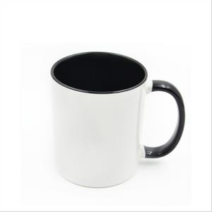 Bilde av Two tone svart/hvit kopp