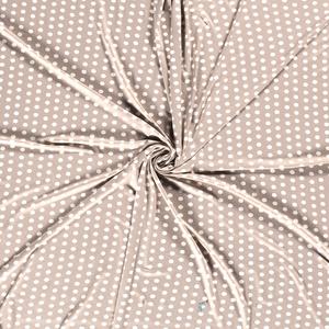 Bilde av Viskosejersey dots nude