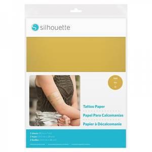 Bilde av Silhouette gold tattoo paper