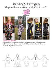 Bilde av Made by Runi - Raglan dress
