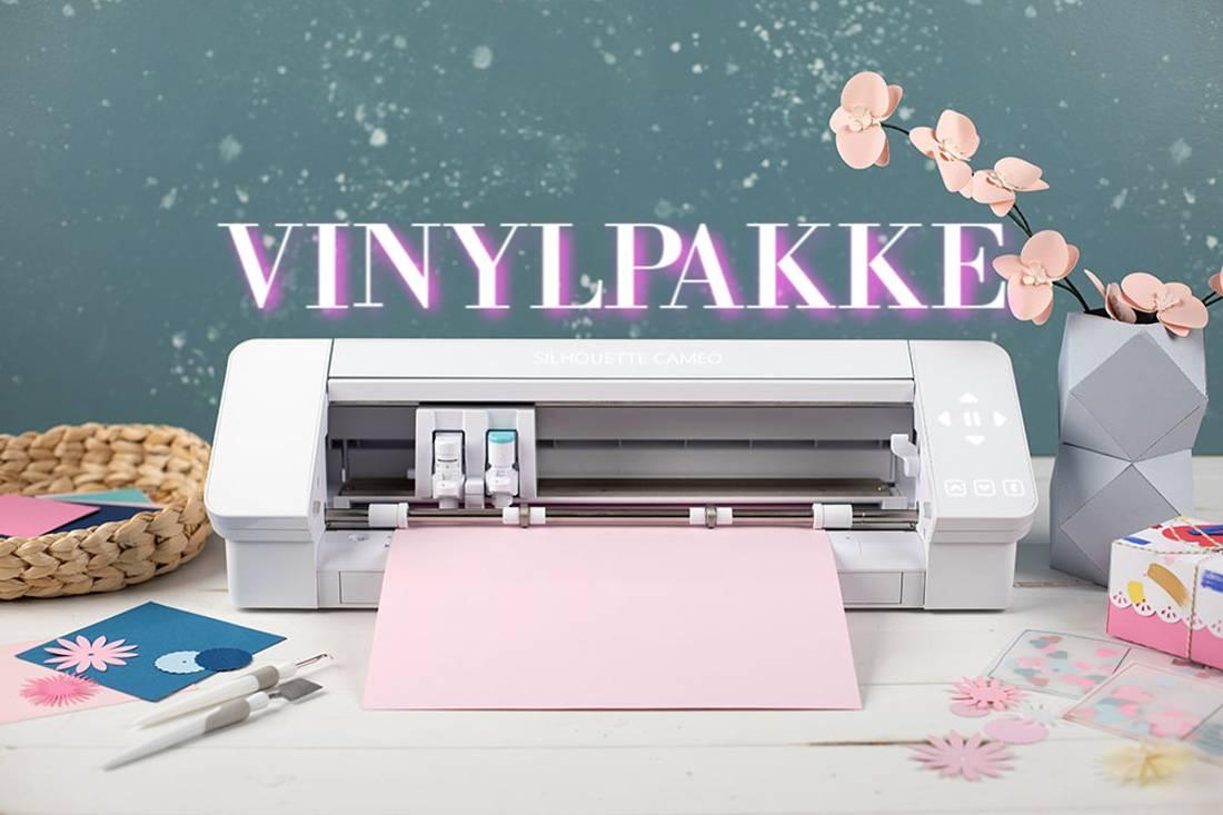 Silhouette  Cameo4 - Hvit med vinylpakke