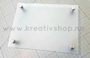Bilde av Skilt frostet 15x20 cm
