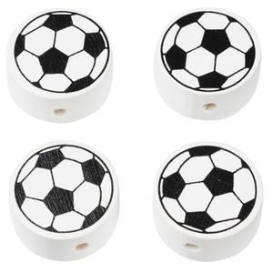 Bilde av Fotball treperle svart/hvit