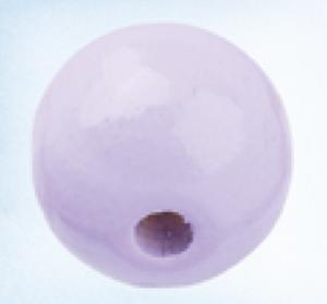 Bilde av Sikkerhetsperle rund lyslilla