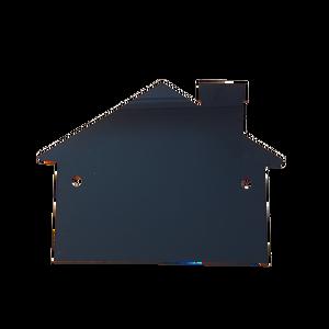 Bilde av Skilt svart hus 15x20 cm