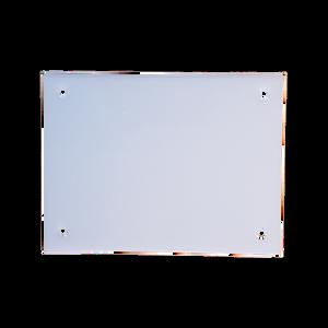 Bilde av Skilt hvitt 15x20 cm