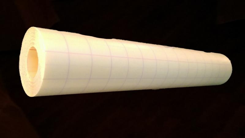 Transfertape blank 0,3*10 m Lett/medium tack