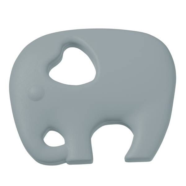 Silikonfigur elefant grå 1pk