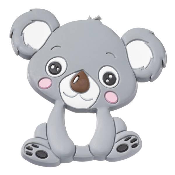 Silikonfigur koala grå 1pk