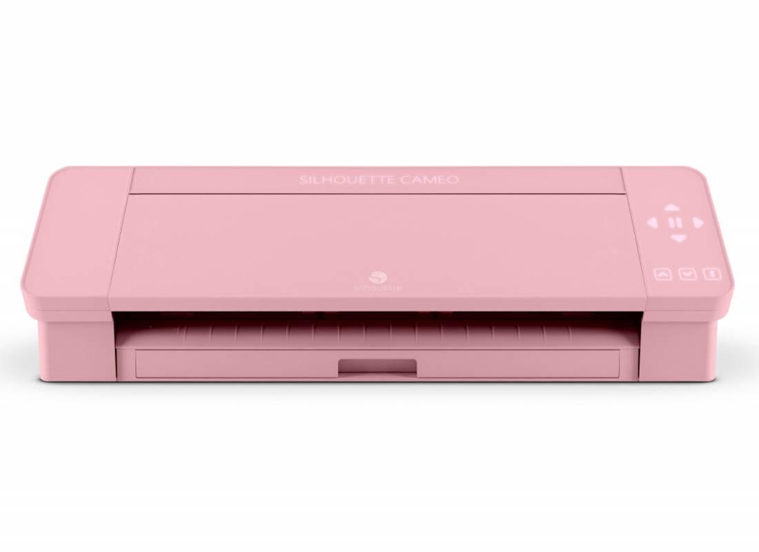 Silhouette  Cameo4 - Rosa med vinylpakke
