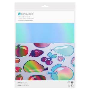 Bilde av Silhouette Iridescent sticker