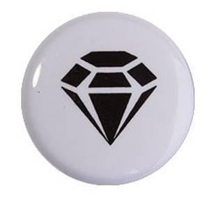 Bilde av Motivknapp  - diamant -